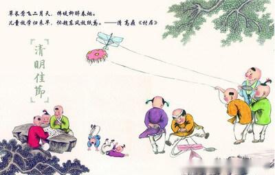 中英雙語話中國民風民俗 第60期:人們怎樣過清明節